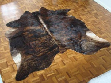 Brindle Cow Skin Swatch