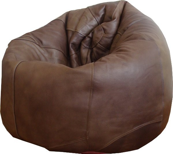 Luxury Adult Leather Beanbag