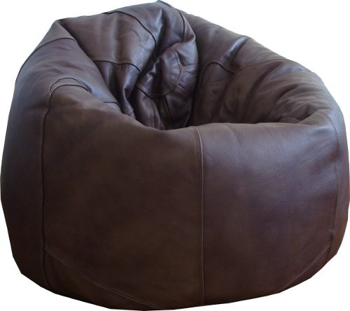 Luxury Xl Leather Beanbag An Extra Large Leather Beanbag