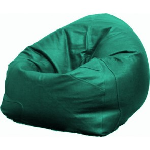 Green Leather Beanbag Chair